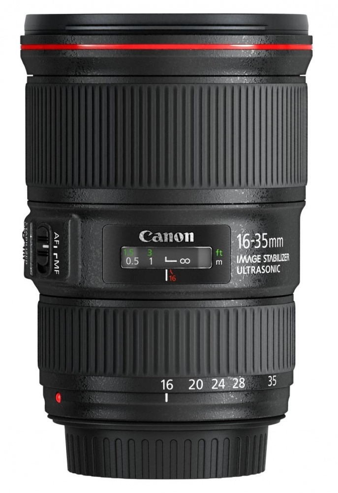 Объектив Canon EF 16-35mm f4L IS USM. Фото №4
