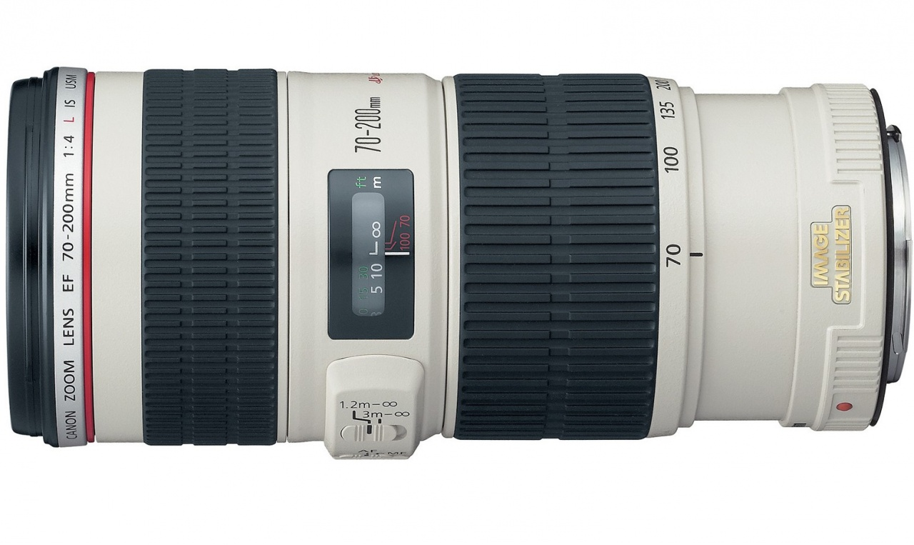 Объектив Canon EF 70-200 mm 4.0L IS USM