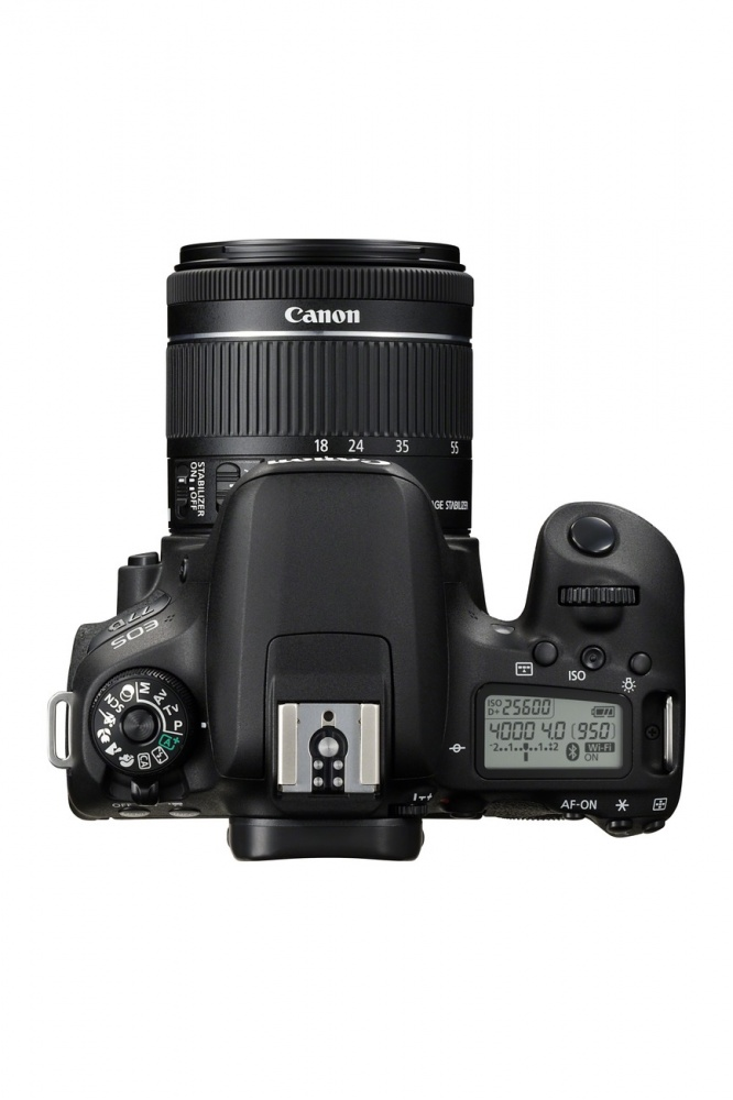 Фотоаппарат цифровой зеркальный Canon EOS 77D kit EF-S18-55 F4-5.6 IS STM. Фото №5