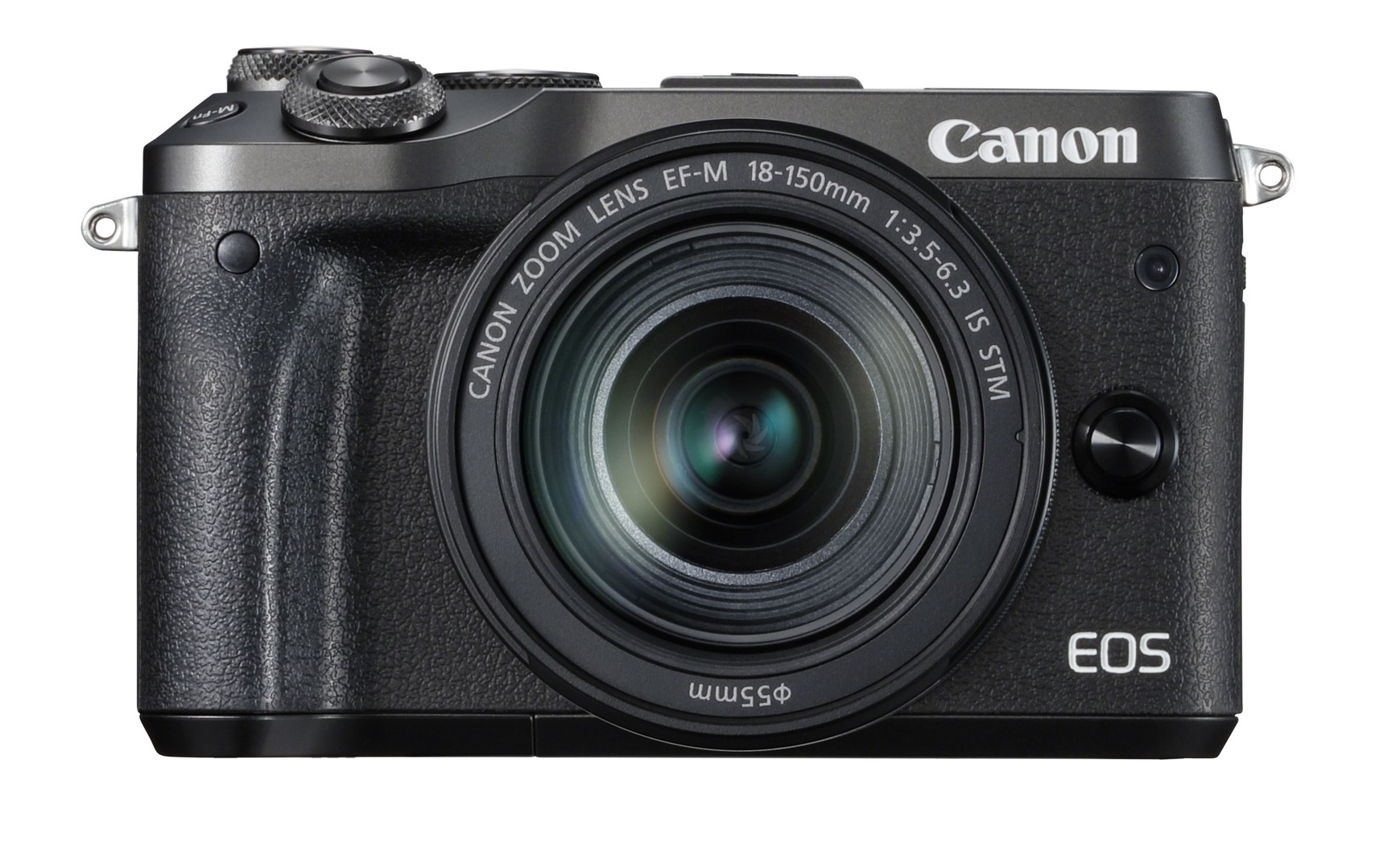 Фотоаппарат Canon EOS M6 чёрный с EF-M 18-150 IS STM