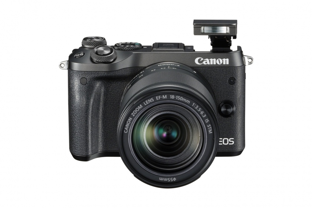 Фотоаппарат Canon EOS M6 чёрный с EF-M 18-150 IS STM. Фото №9