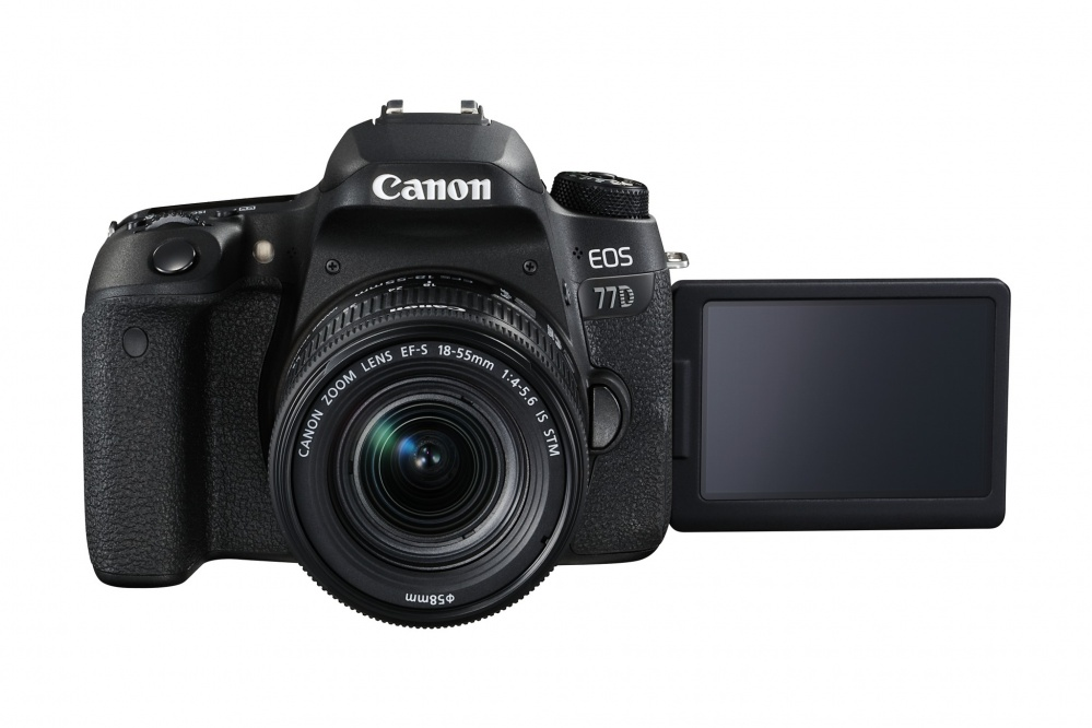 Фотоаппарат цифровой зеркальный Canon EOS 77D kit EF-S18-55 F4-5.6 IS STM. Фото №6