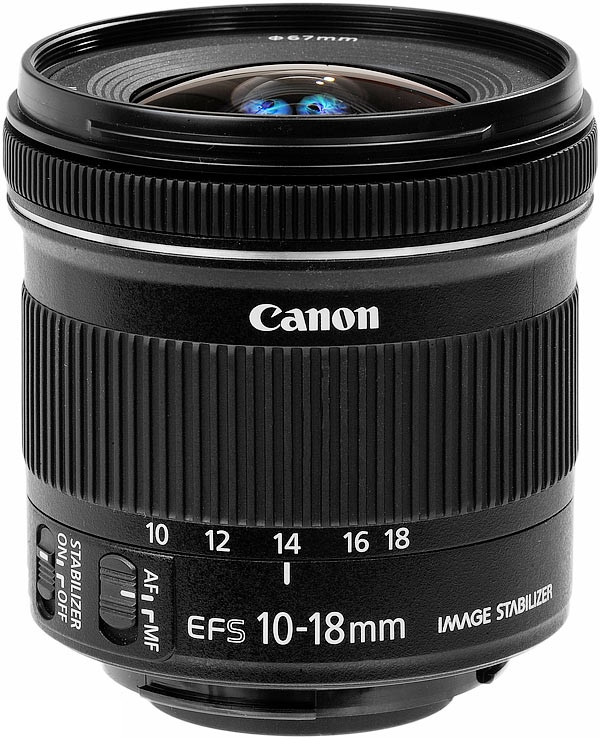 Объектив Canon EF-S 10-18 mm 4.5-5.6 IS STM