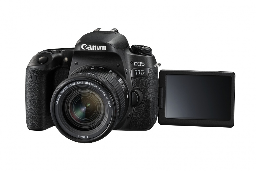 Фотоаппарат цифровой зеркальный Canon EOS 77D kit EF-S18-55 F4-5.6 IS STM. Фото №9