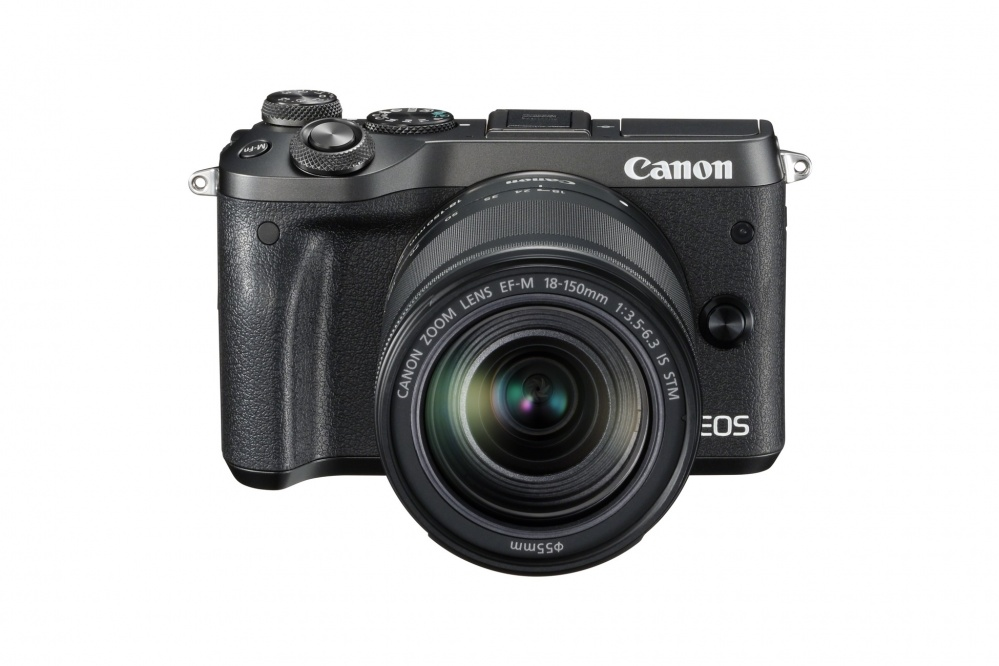 Фотоаппарат Canon EOS M6 чёрный с EF-M 18-150 IS STM. Фото №7