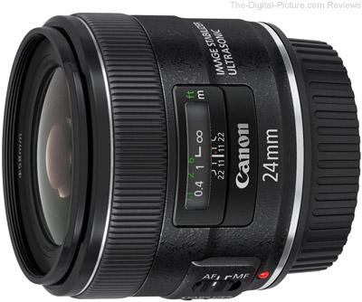 Объектив Canon EF 24 mm F 2.8 IS USM