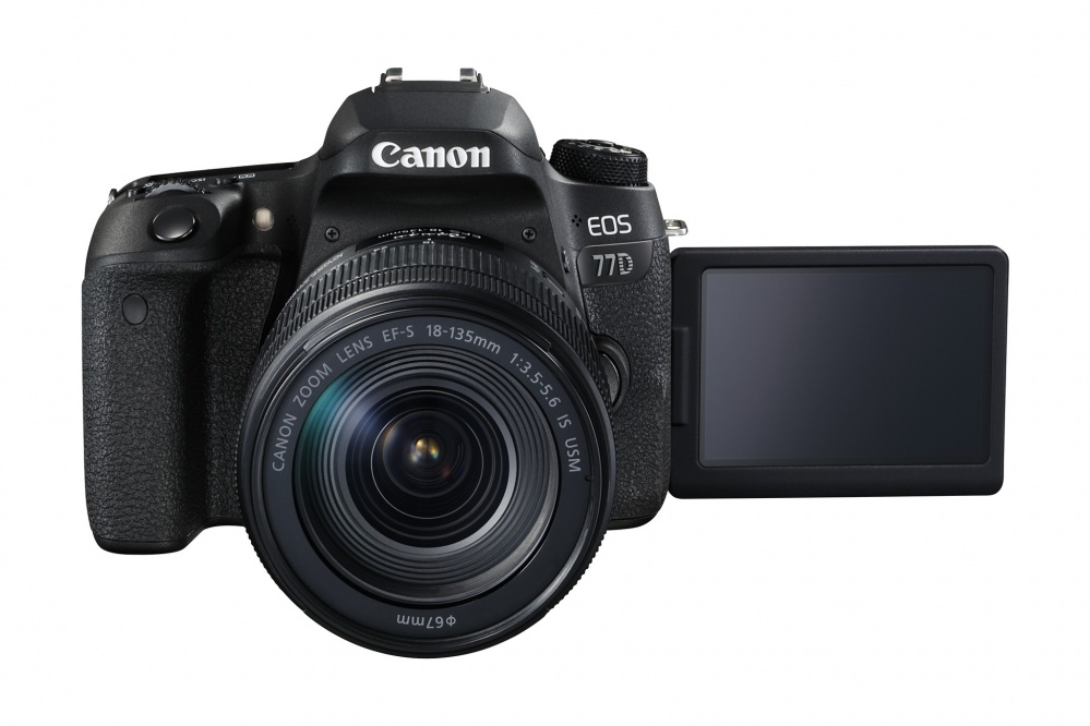 Canon EOS 77D kit 18-135 IS USM. Фото №4