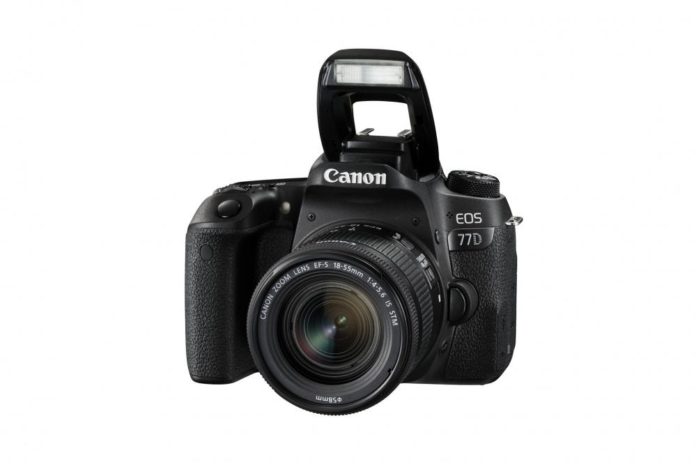 Фотоаппарат цифровой зеркальный Canon EOS 77D kit EF-S18-55 F4-5.6 IS STM. Фото №8