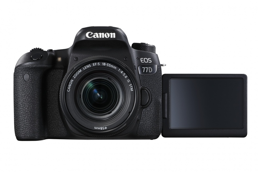 Фотоаппарат цифровой зеркальный Canon EOS 77D kit EF-S18-55 F4-5.6 IS STM. Фото №7