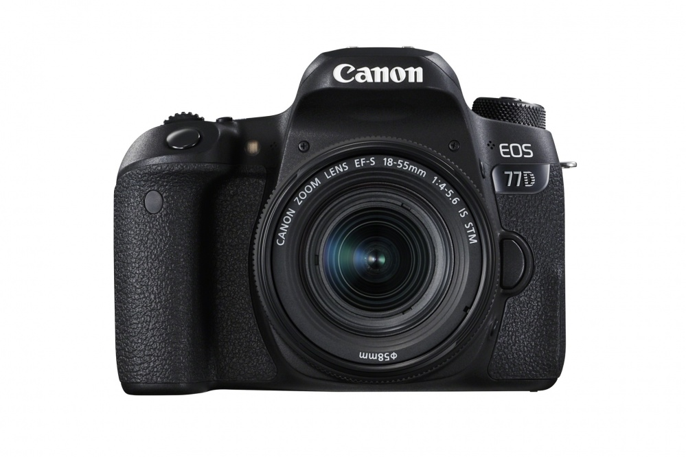 Фотоаппарат цифровой зеркальный Canon EOS 77D kit EF-S18-55 F4-5.6 IS STM. Фото №2